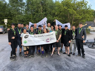 phs Compliance conquer the Three Peaks Challenge